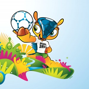 Fifa World Cup 2014 Mascot Design Wallpapers