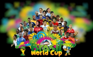 Fifa World Cup Players Wallpaper