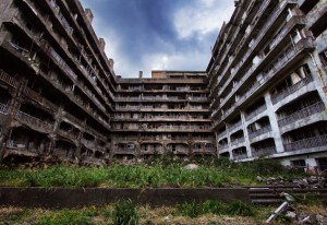 Hashima Island Buildings
