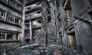 Hashima Island Stairway to Hell