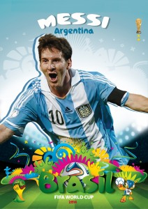 Messi World Cup 2014 Wallpaper
