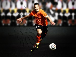 Robin Van Persie Netherlands Wallpaper HD